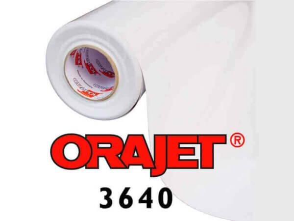ПВХ пленка глянцевая прозрачная для печати Orajet 3640