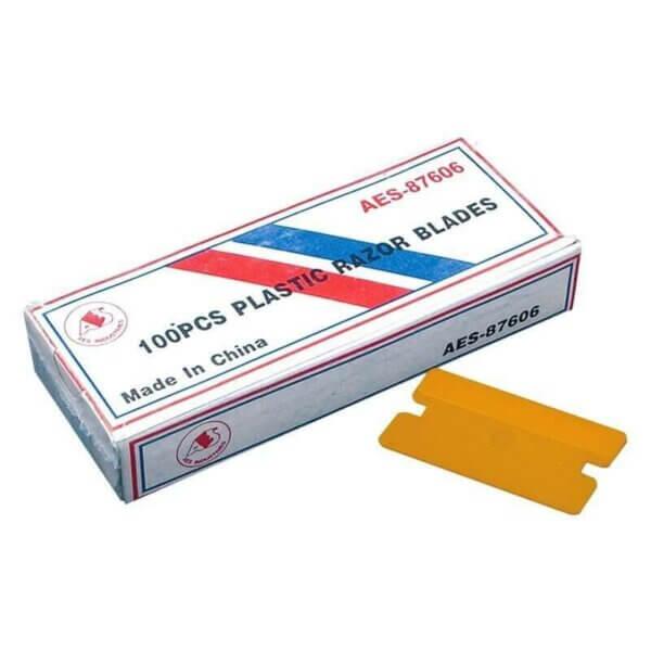 Лезвия пластиковые (100 шт) GT 139